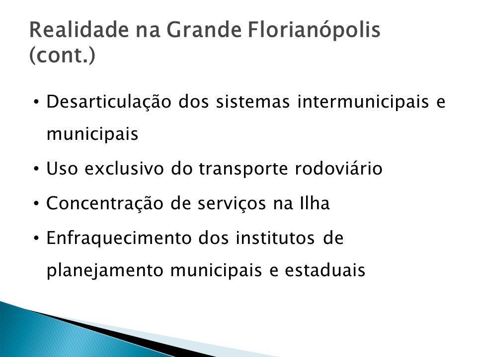 Realidade na Grande Florianópolis (cont.)