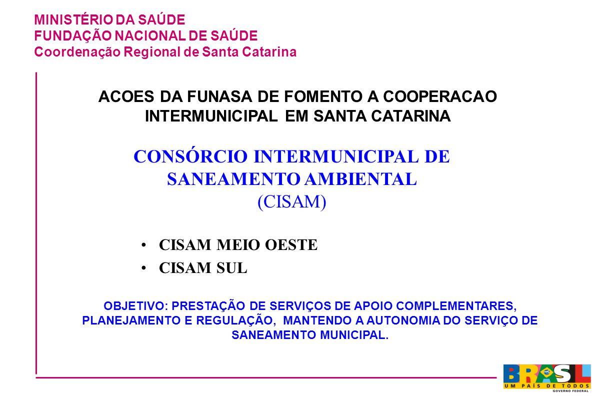 CONSÓRCIO INTERMUNICIPAL DE SANEAMENTO AMBIENTAL (CISAM)