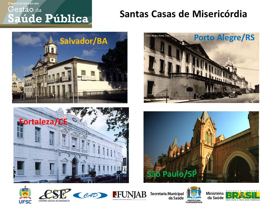 Santas Casas de Misericórdia