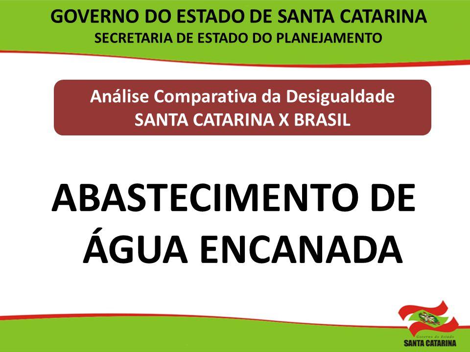 ABASTECIMENTO DE ÁGUA ENCANADA
