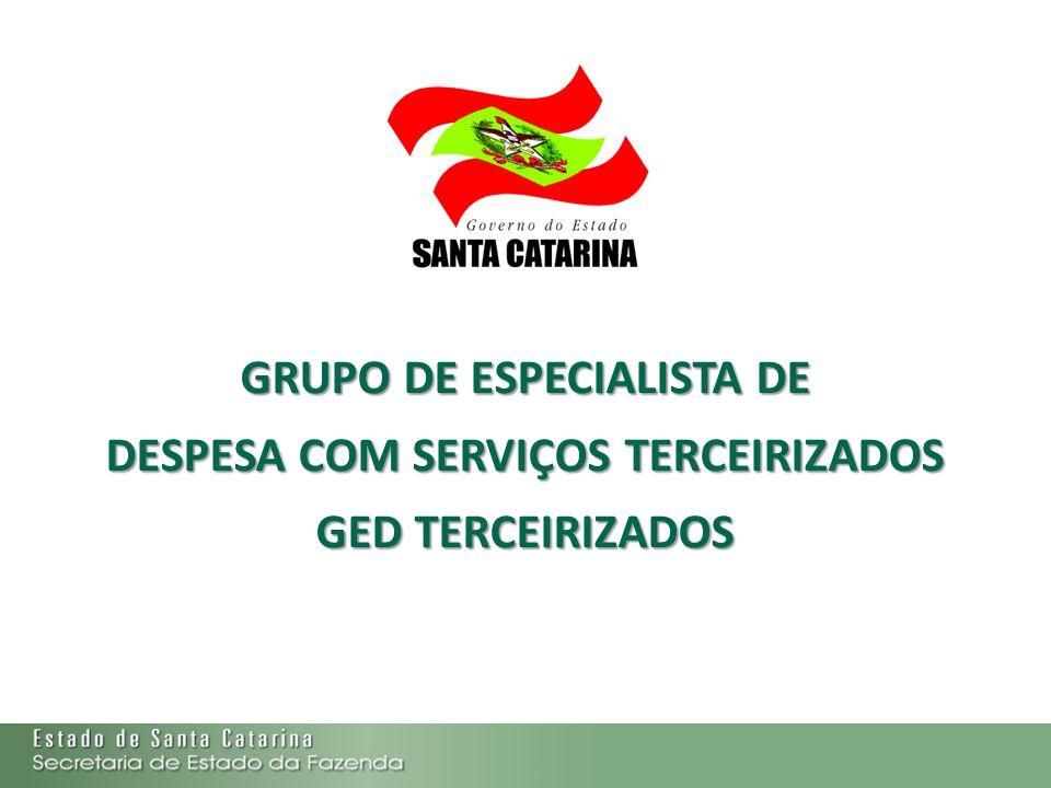 GRUPO DE ESPECIALISTA DE DESPESA COM SERVIÇOS TERCEIRIZADOS