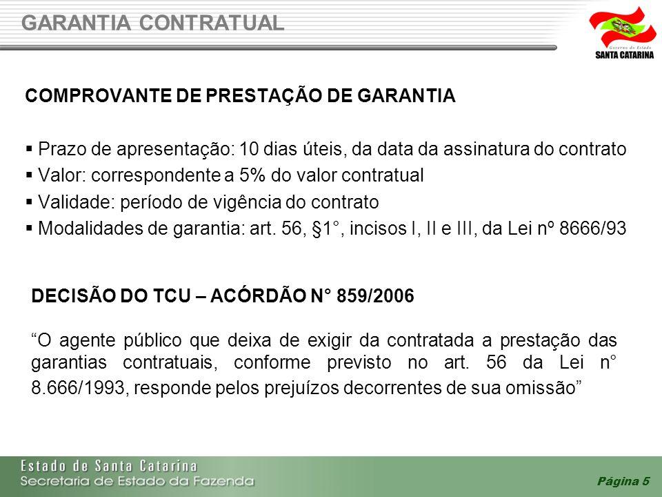 GARANTIA CONTRATUAL COMPROVANTE DE PRESTAÇÃO DE GARANTIA