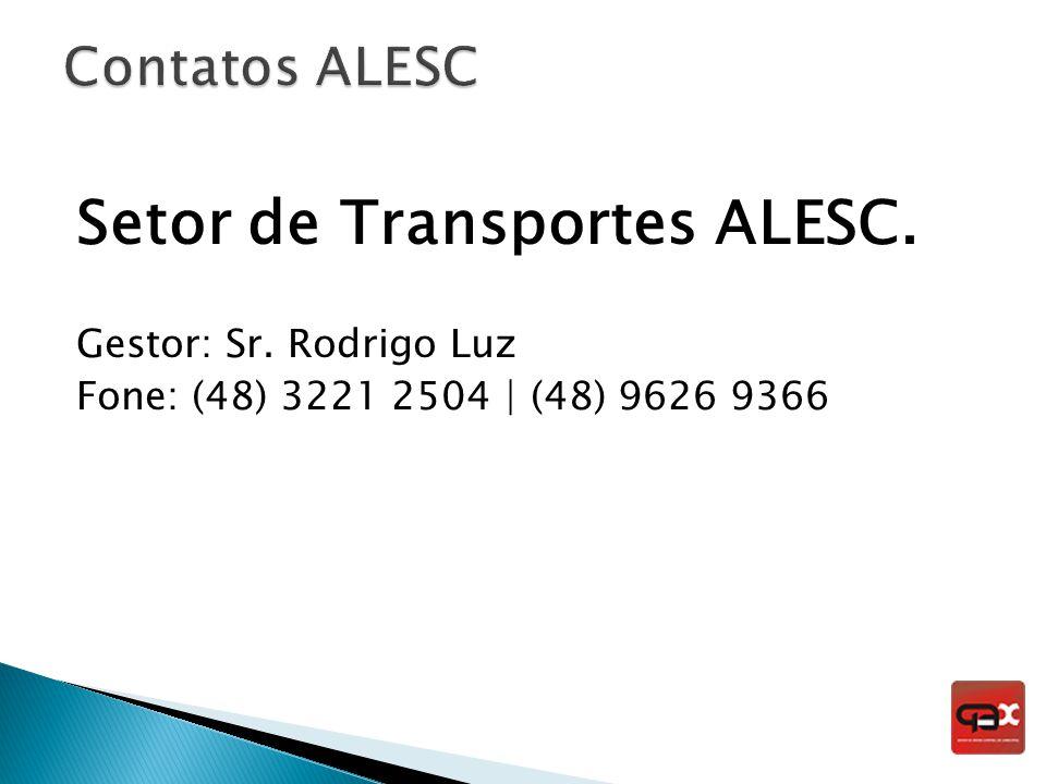 Setor de Transportes ALESC.