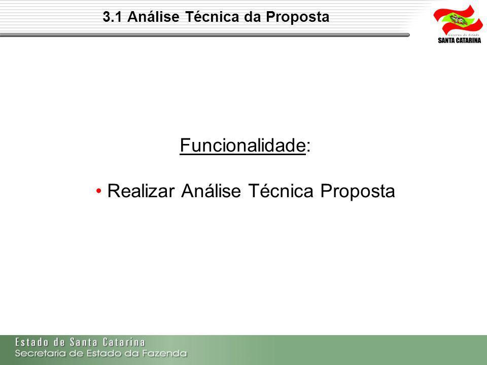 3.1 Análise Técnica da Proposta