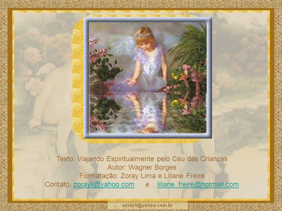 Texto: Viajando Espiritualmente pelo Céu das Crianças
