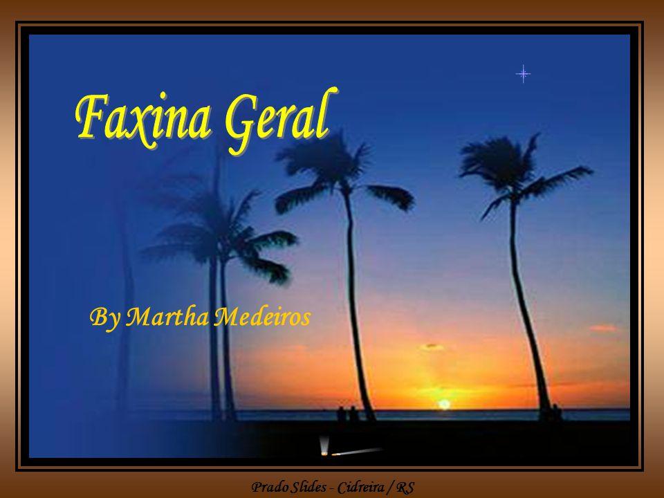 Faxina Geral By Martha Medeiros