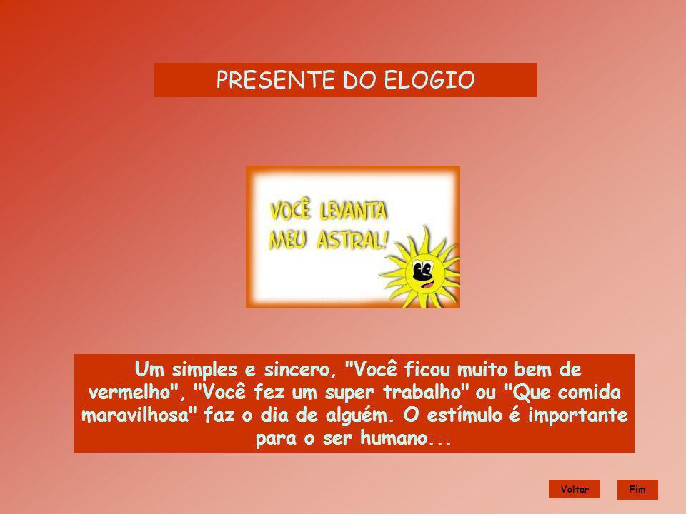 PRESENTE DO ELOGIO