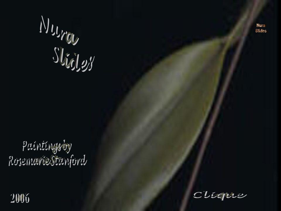 Nura Slides Nura Slides Paintings by Rosemarie Stanford Clique 2006