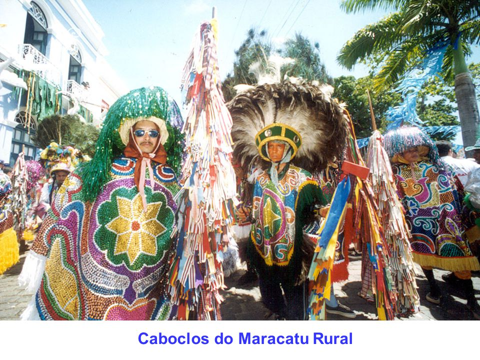 Caboclos do Maracatu Rural