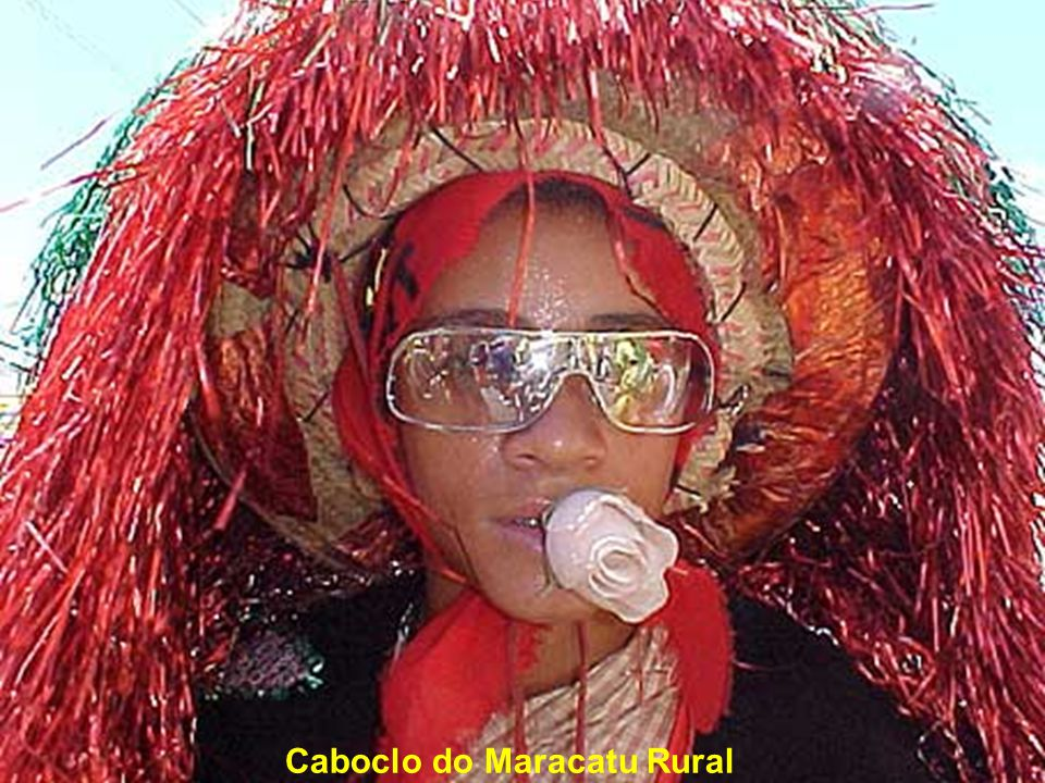 Caboclo do Maracatu Rural