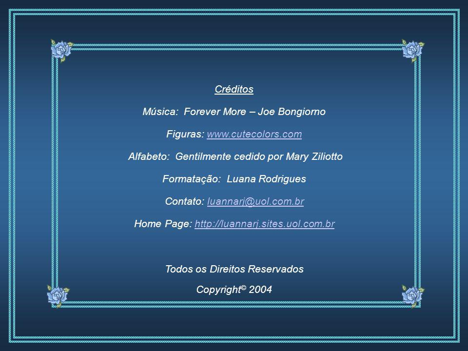 Música: Forever More – Joe Bongiorno Figuras: www.cutecolors.com