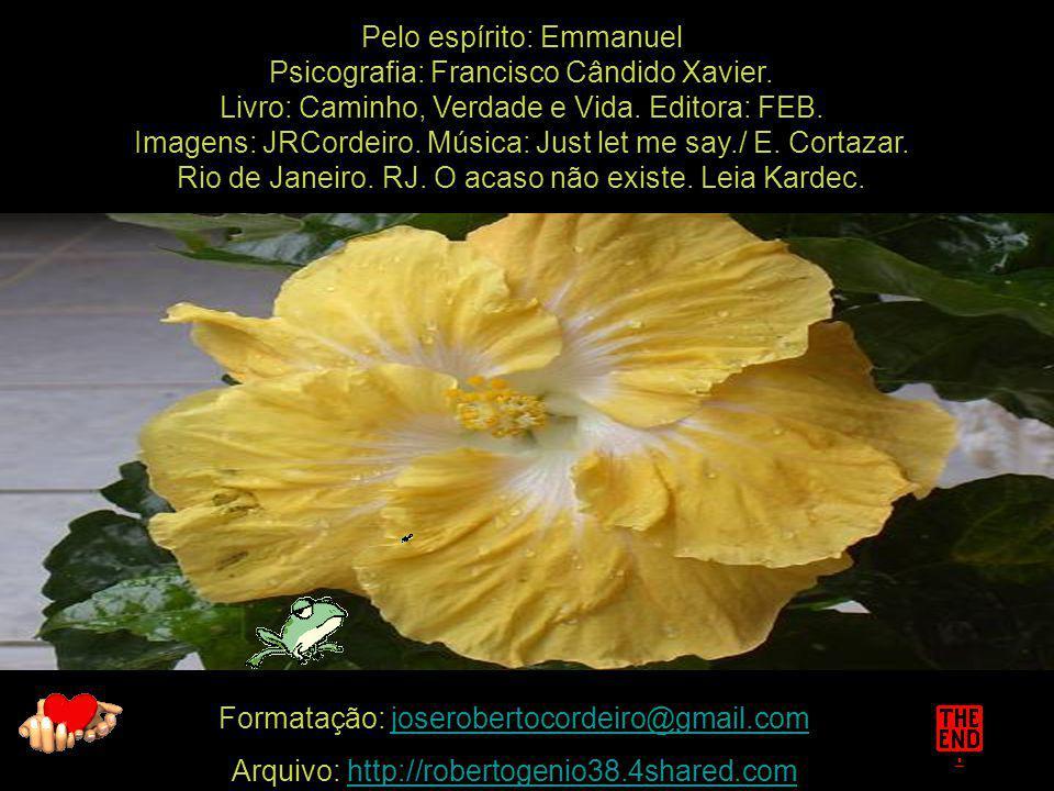 Pelo espírito: Emmanuel Psicografia: Francisco Cândido Xavier.