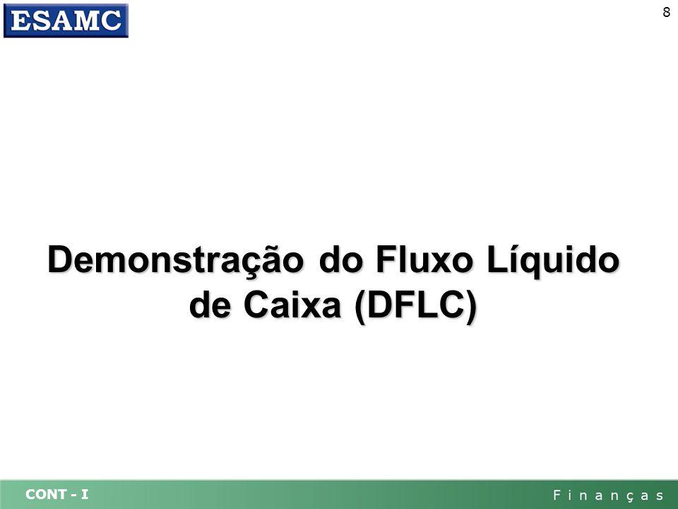 Demonstração do Fluxo Líquido de Caixa (DFLC)
