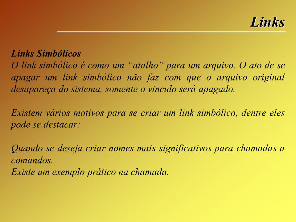 Links Links Simbólicos