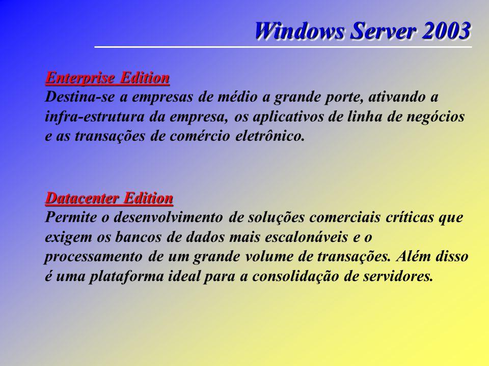 Windows Server 2003 Enterprise Edition