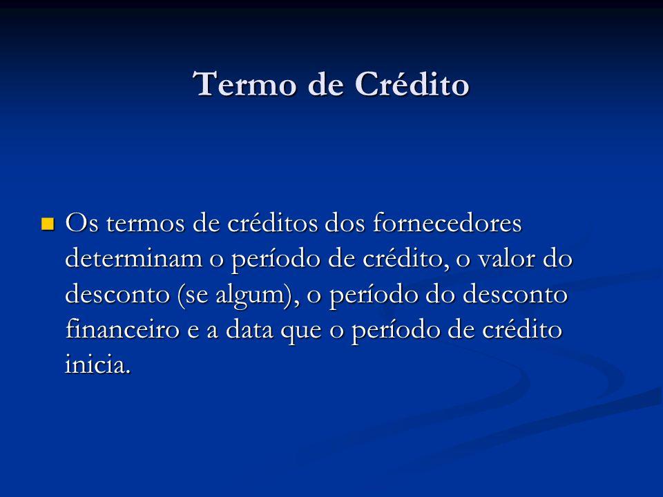 Termo de Crédito