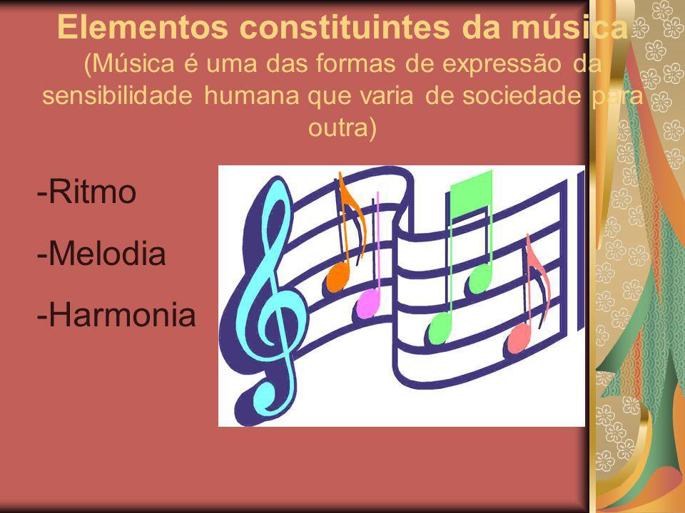 Ritmo Melodia Harmonia