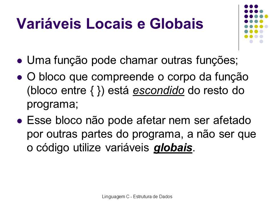Variáveis Locais e Globais