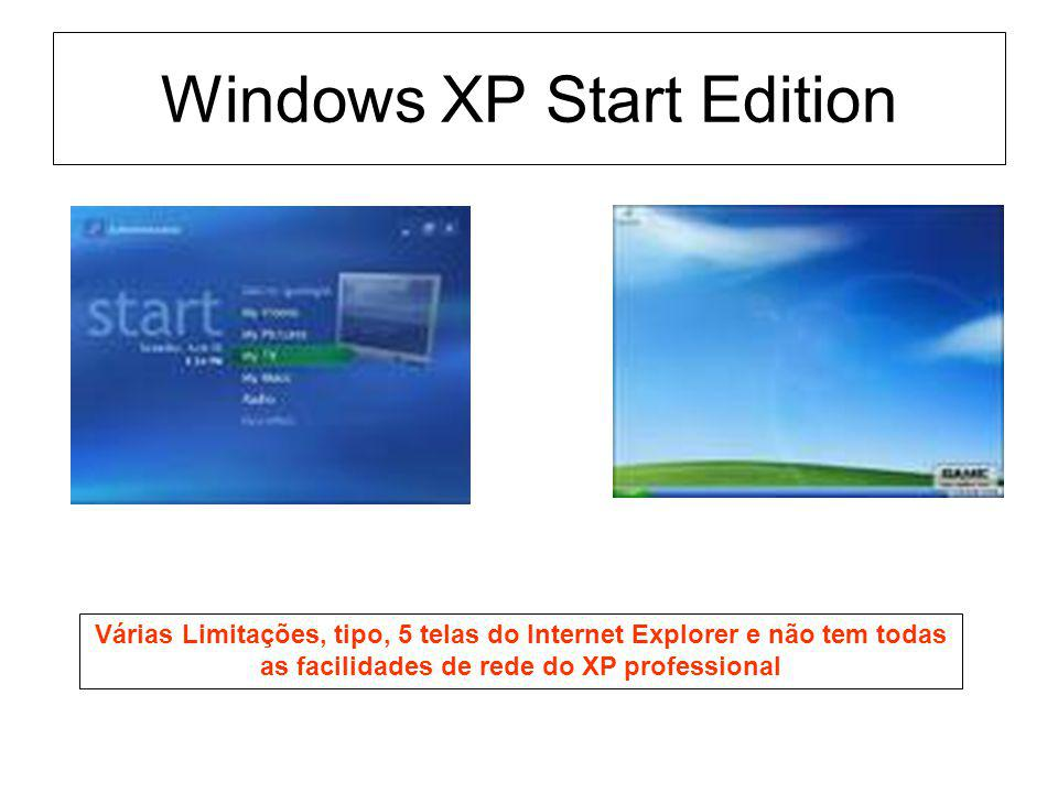 Windows XP Start Edition