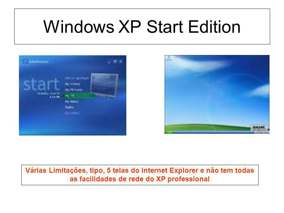 Windows XP Start Edition