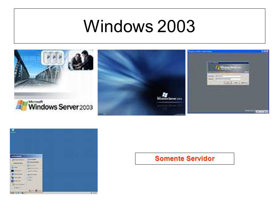 Windows 2003 Somente Servidor
