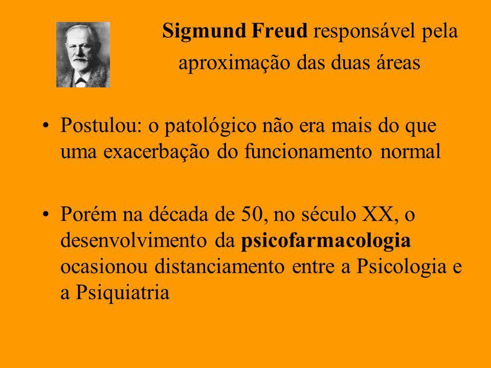 Sigmund Freud responsável pela