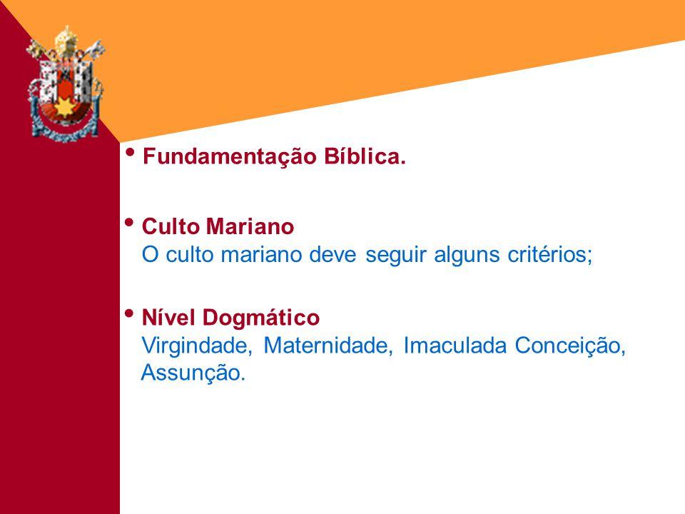 Fundamentação Bíblica.