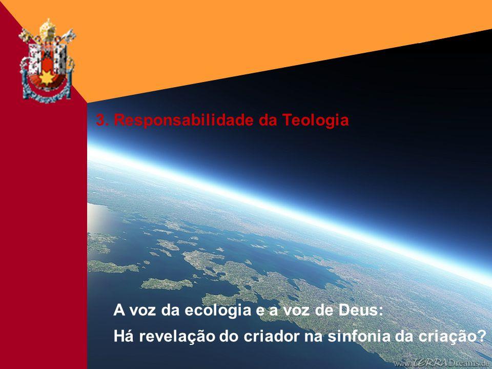 3. Responsabilidade da Teologia