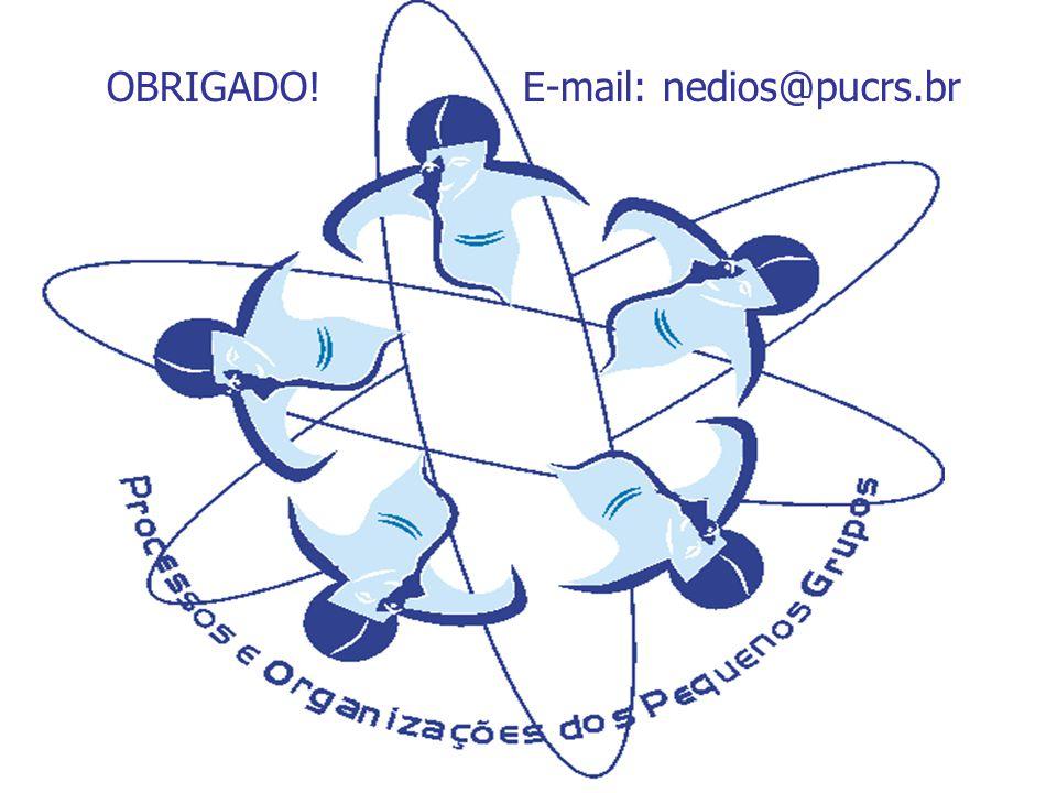 OBRIGADO! E-mail: nedios@pucrs.br