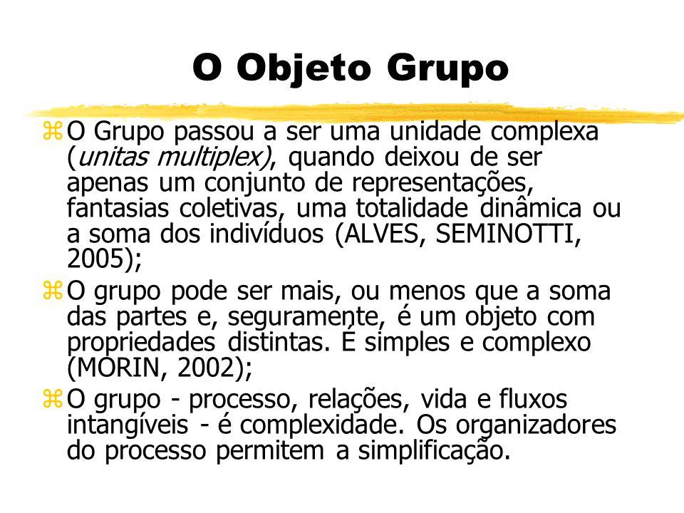 O Objeto Grupo