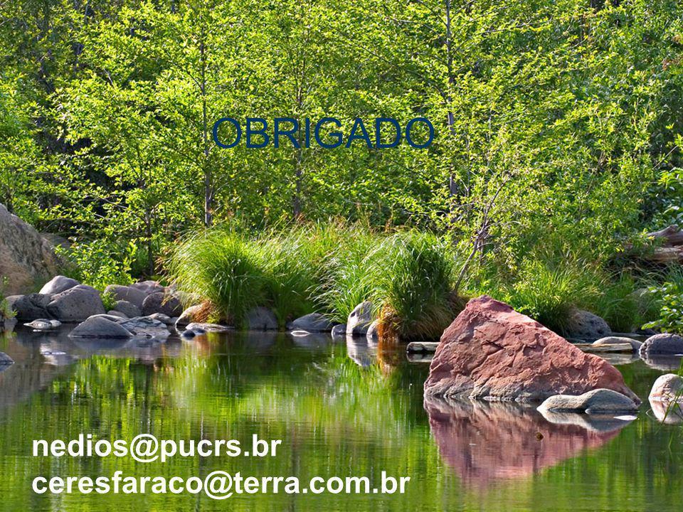 OBRIGADO nedios@pucrs.br ceresfaraco@terra.com.br
