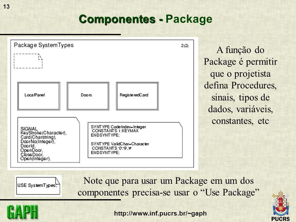 A função do Package é permitir