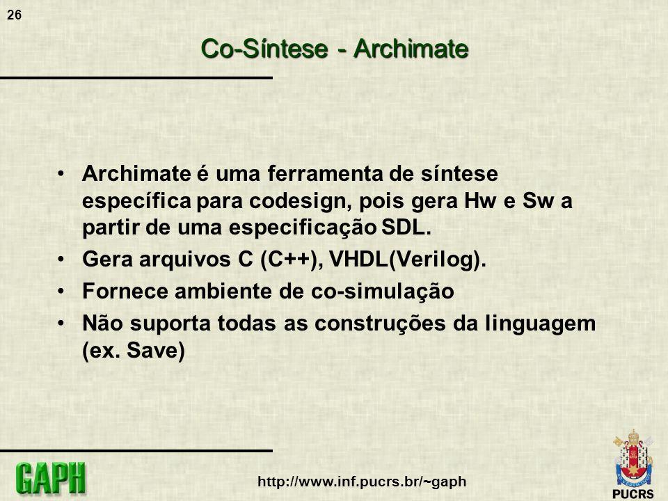 Co-Síntese - Archimate