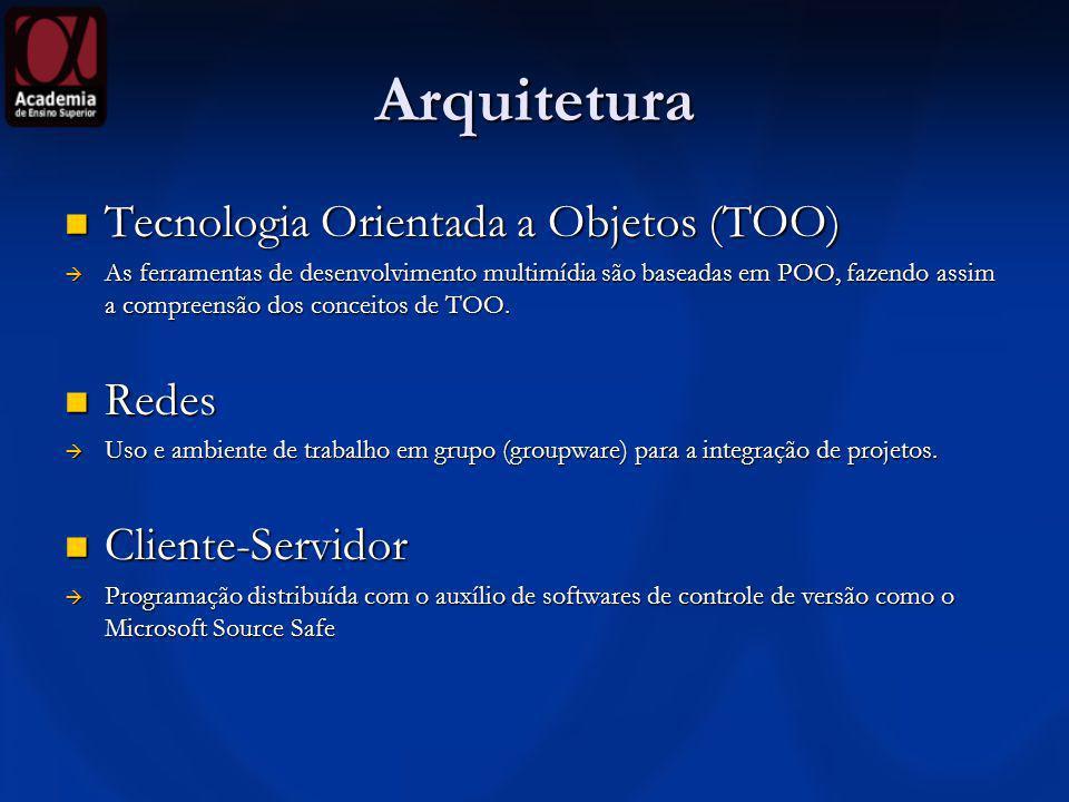 Arquitetura Tecnologia Orientada a Objetos (TOO) Redes