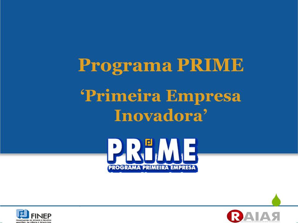 'Primeira Empresa Inovadora'
