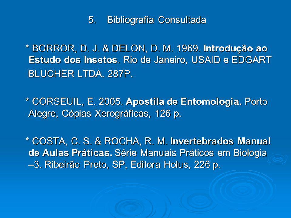 5. Bibliografia Consultada
