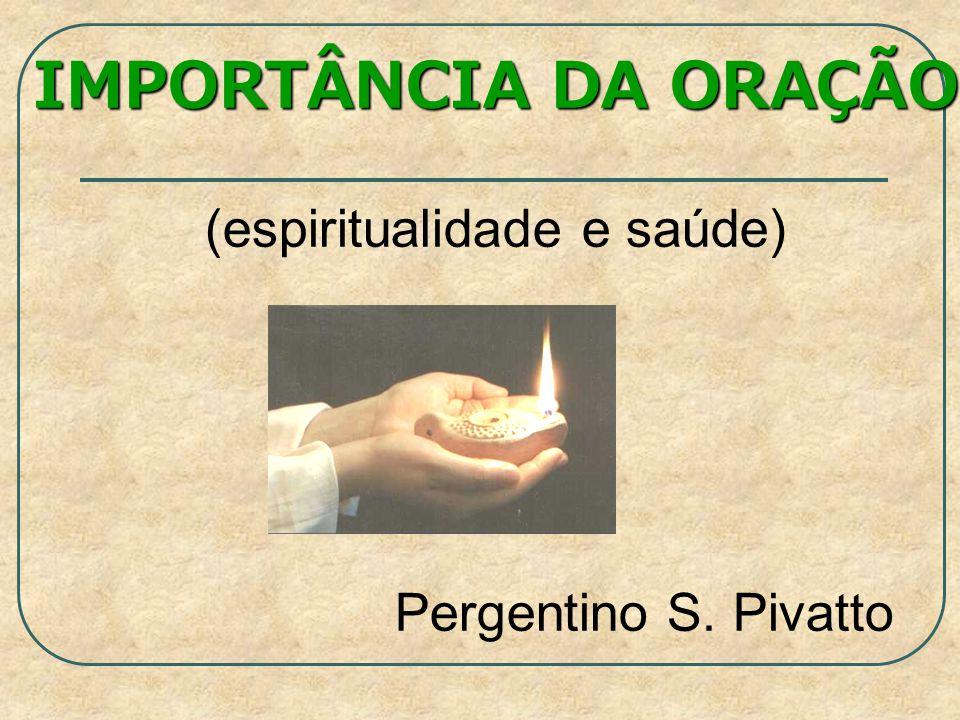 (espiritualidade e saúde)