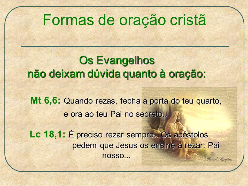 Formas de oração cristã