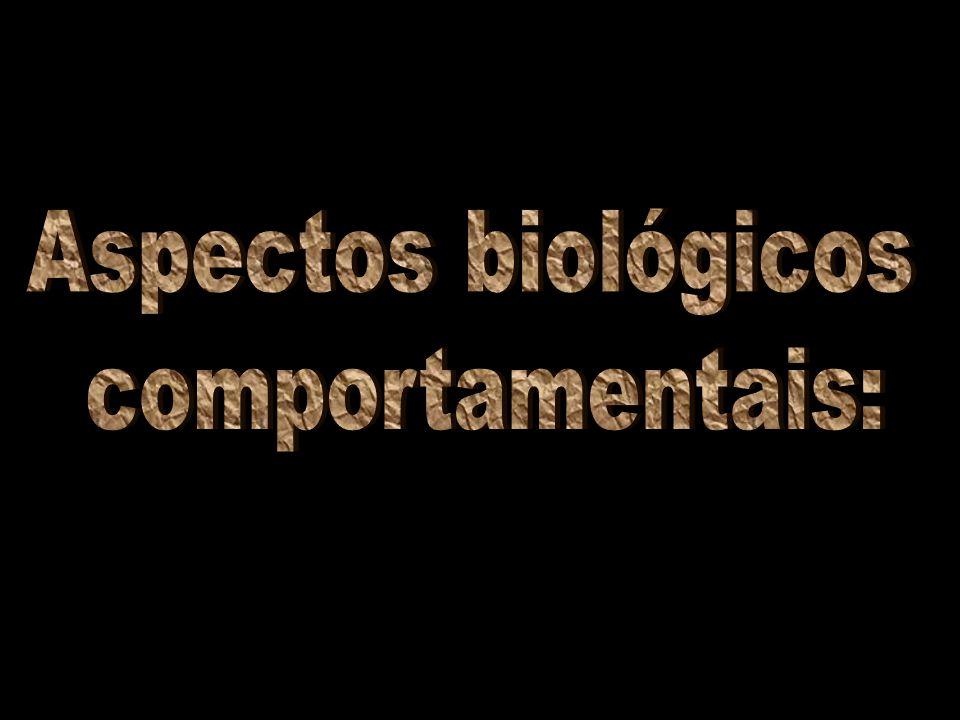 Aspectos biológicos comportamentais: