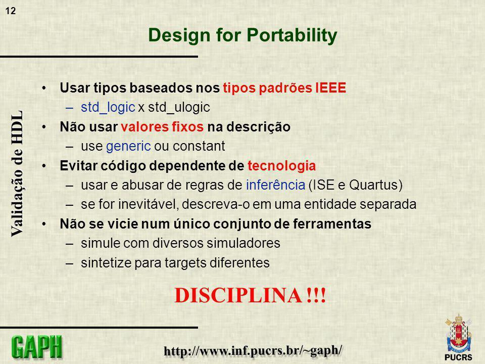 Design for Portability