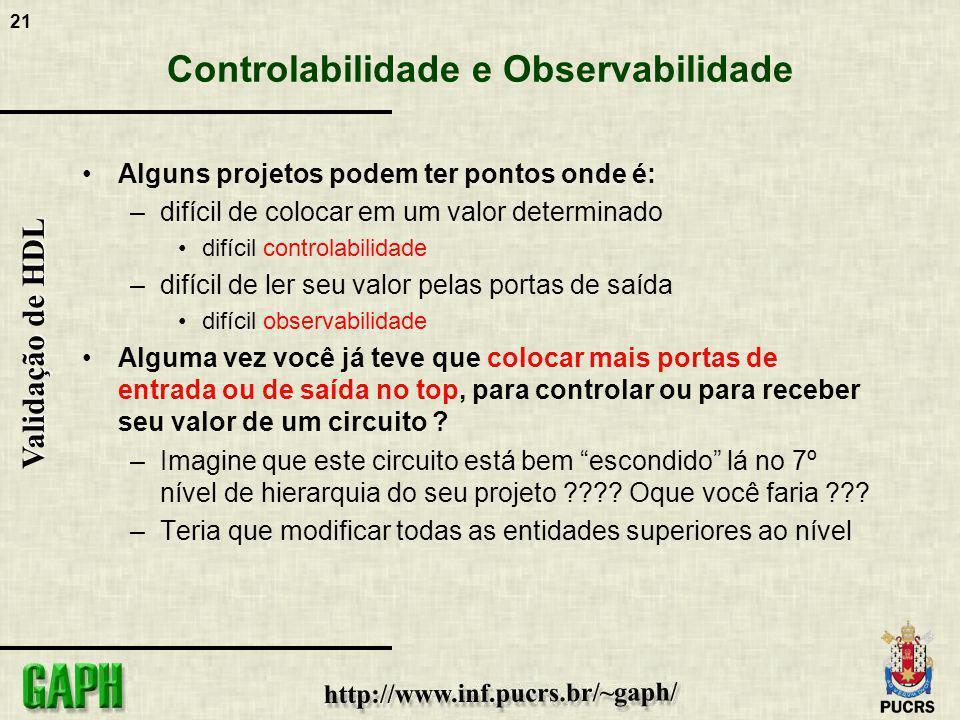 Controlabilidade e Observabilidade
