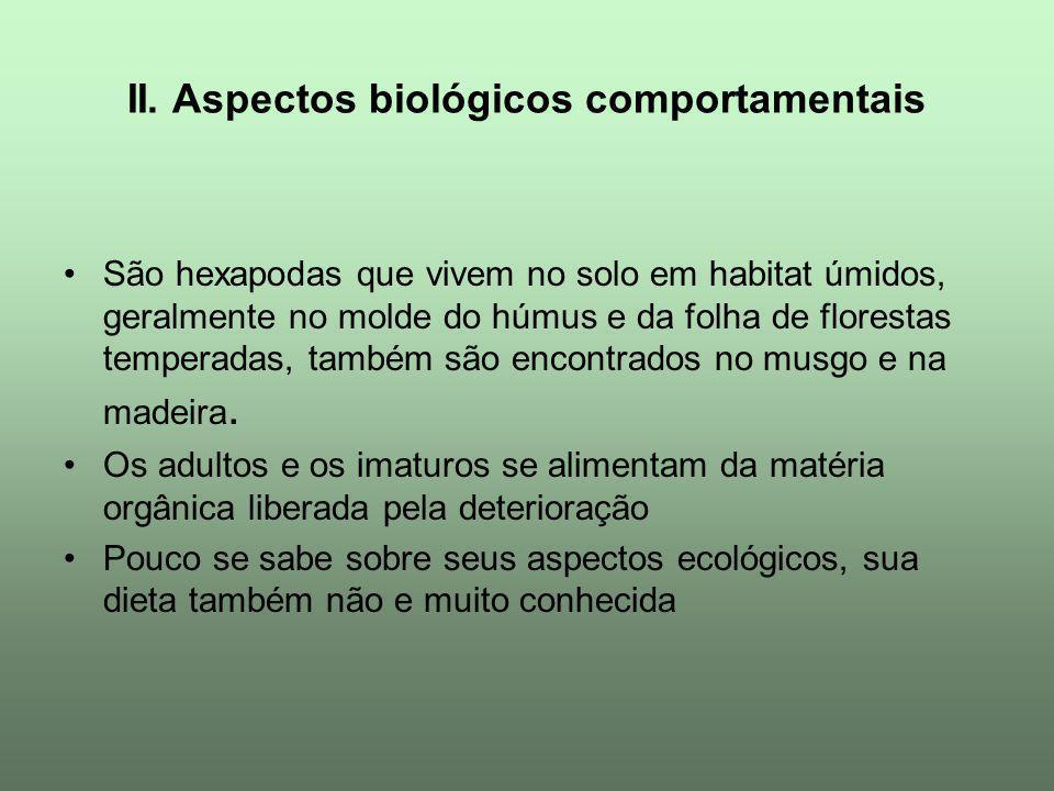 II. Aspectos biológicos comportamentais