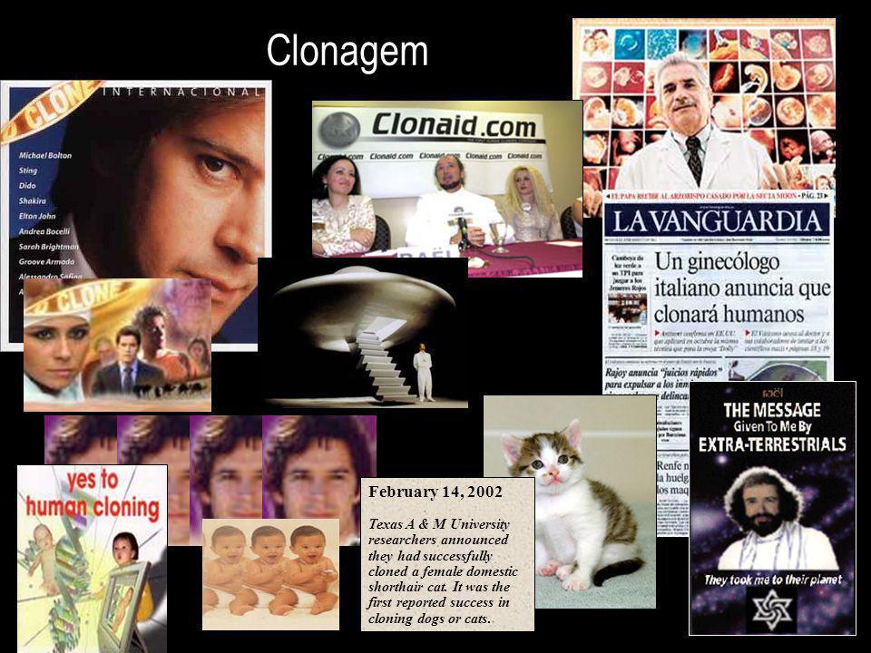 Clonagem February 14, 2002.