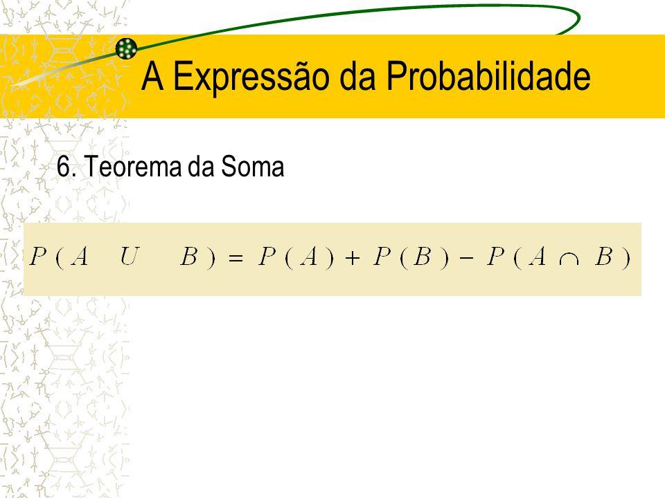 A Expressão da Probabilidade