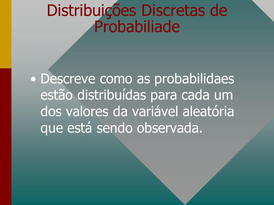 Distribuições Discretas de Probabiliade
