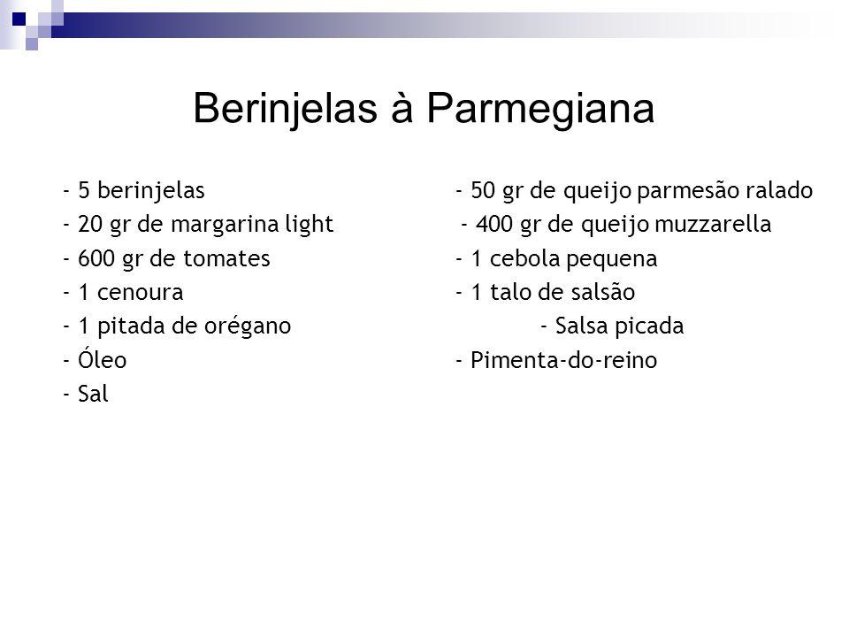 Berinjelas à Parmegiana