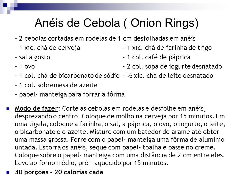 Anéis de Cebola ( Onion Rings)