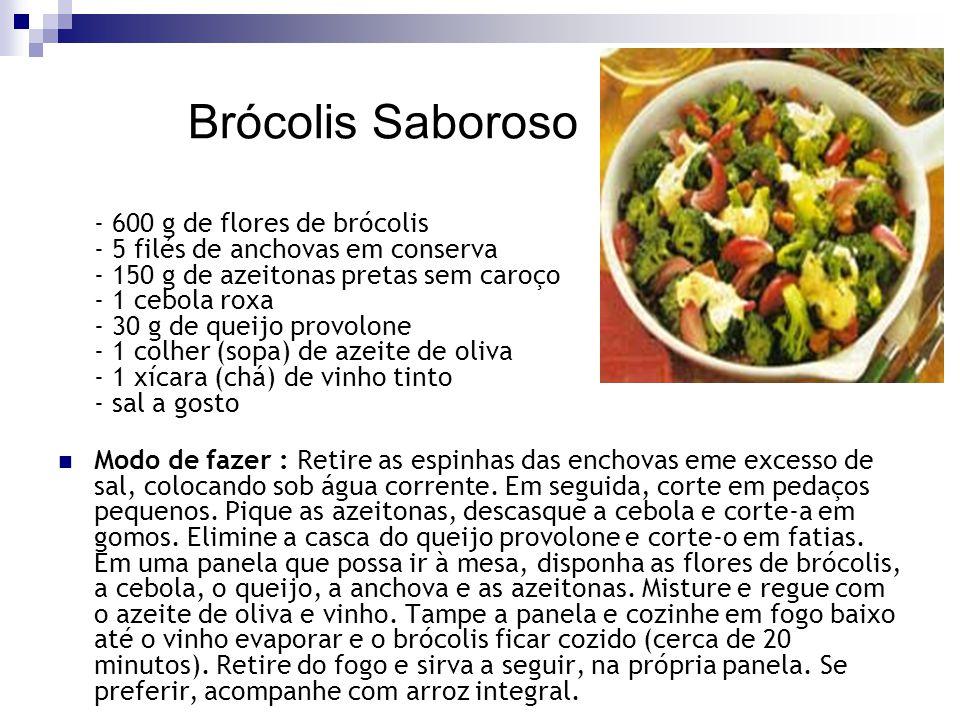 Brócolis Saboroso