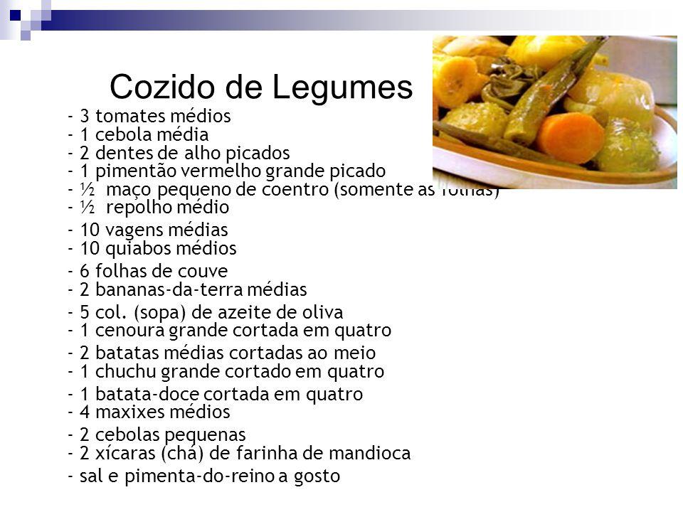Cozido de Legumes