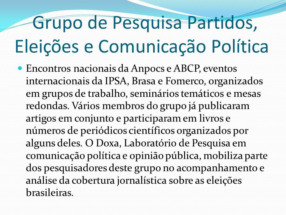 Grupo de Pesquisa Partidos, Eleições e Comunicação Política